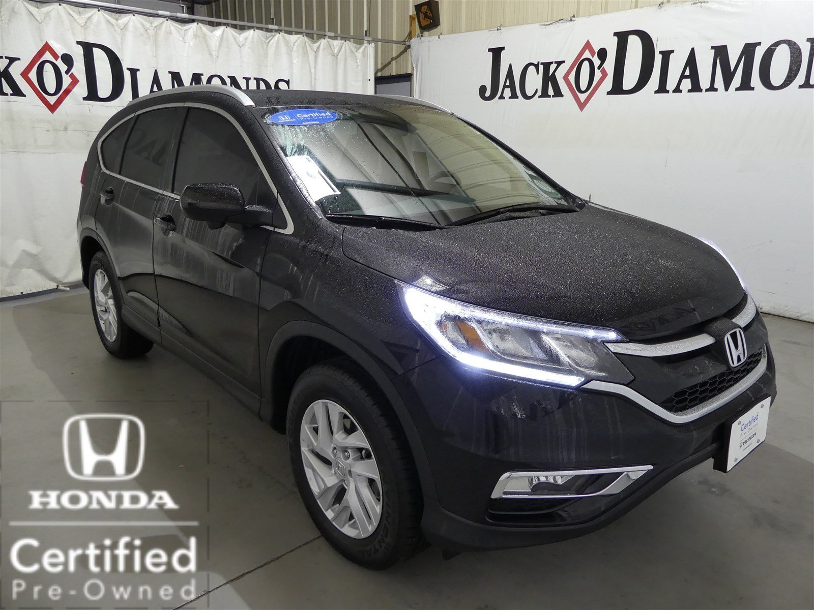 Certified pre owned 2016 honda cr v ex l sport utility in for Honda used certified